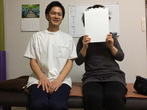 2回で坐骨神経痛が改善した症例
